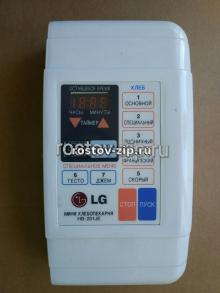 Панель управления хлебопечки LG HB-201JE